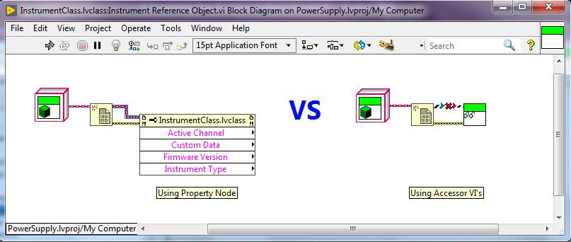 Explaining Accessor VI vs Property Node for Object Reference