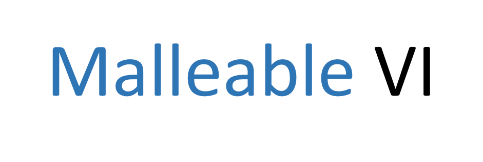 Malleable VI banner