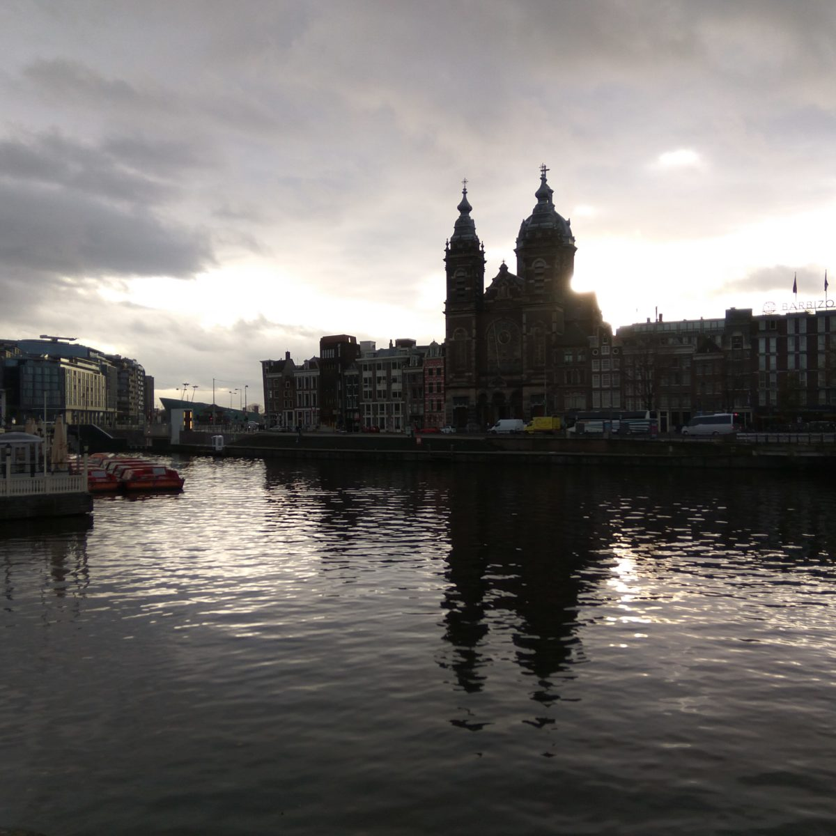 Amsterdam Central Railway Station
