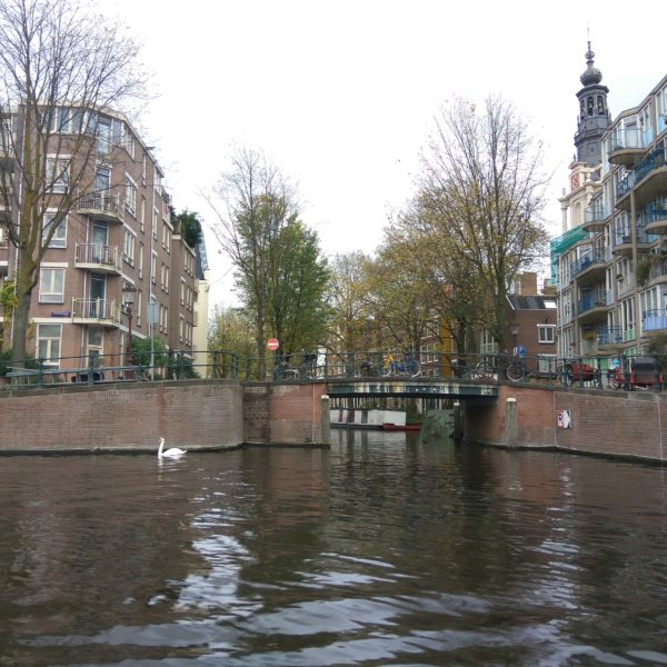 Amsterdam Boating Route