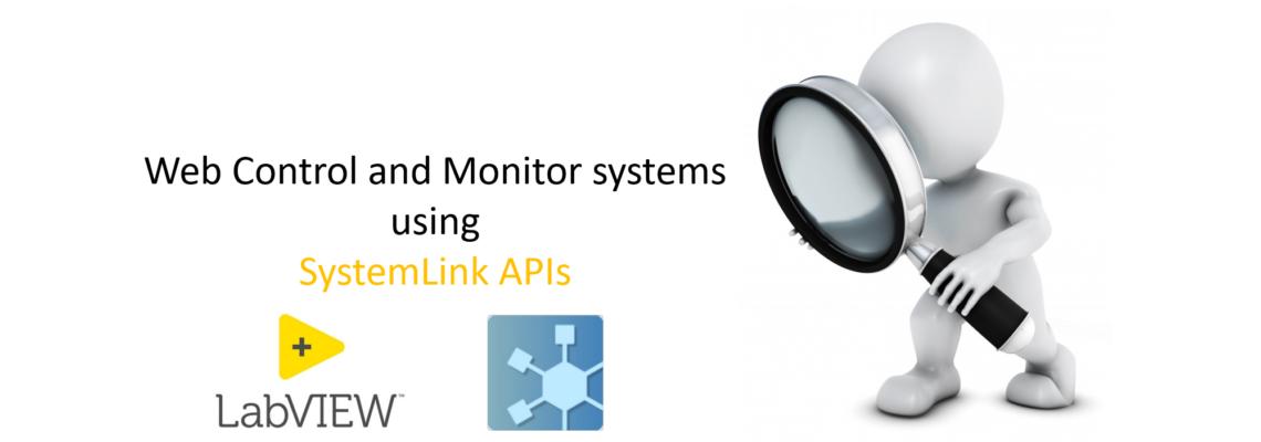 Monitor using SystemLink slider Image